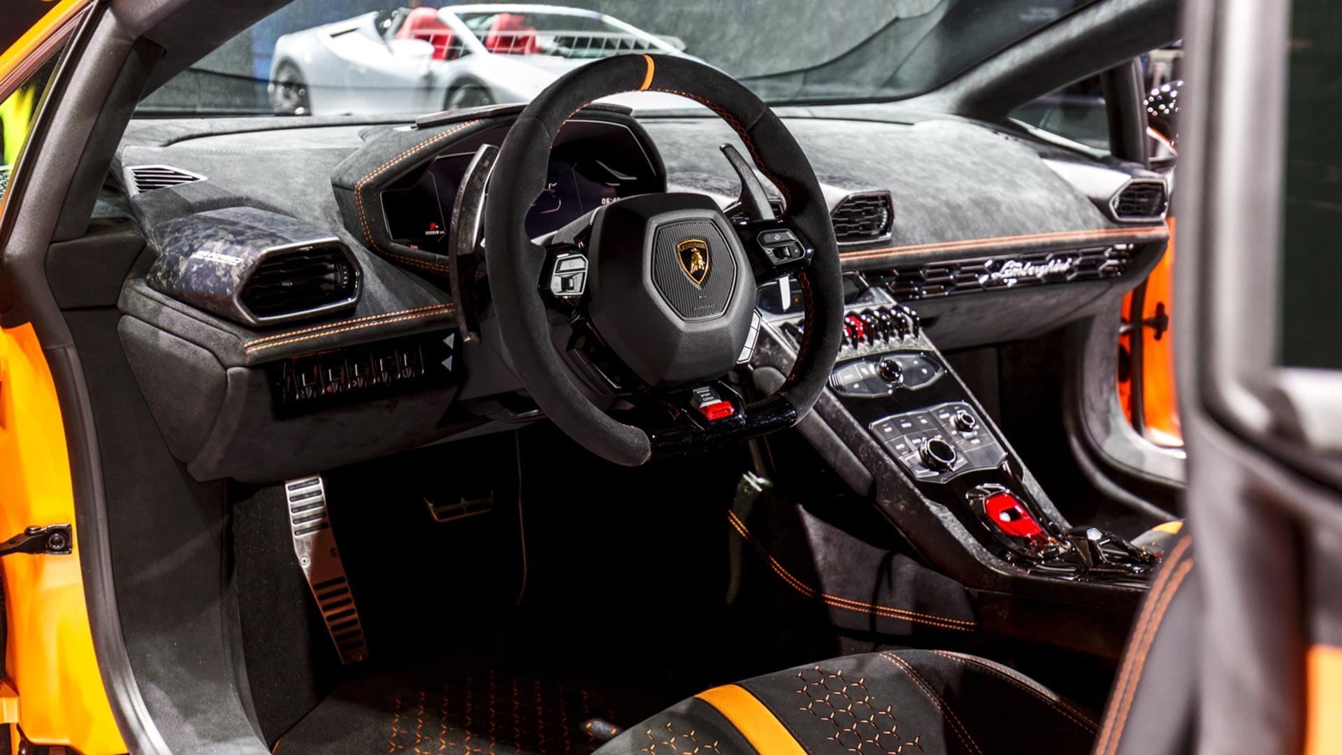 Lamborghini Hurac 225 N Performante Interior