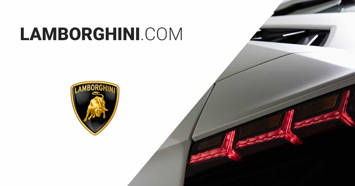 automobili lamborghini official website. Black Bedroom Furniture Sets. Home Design Ideas