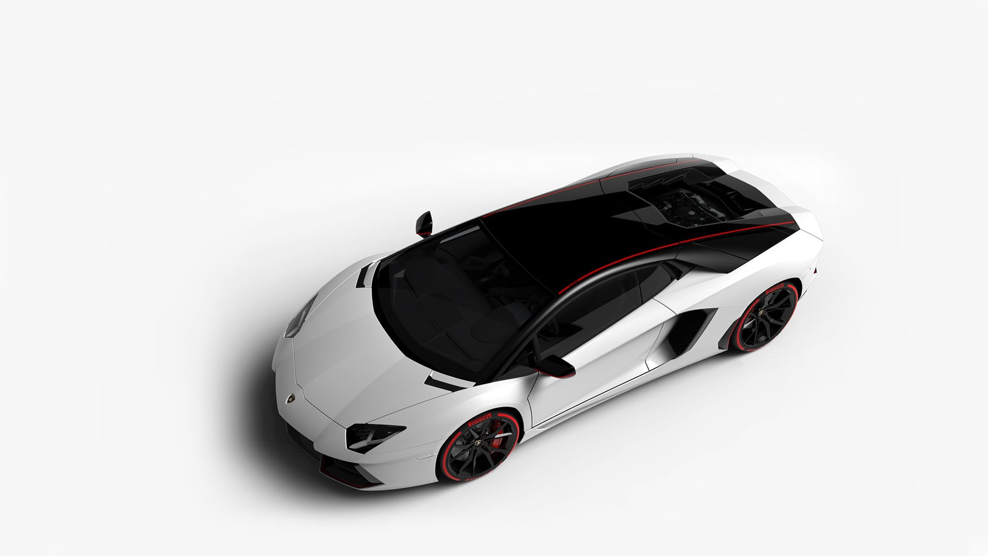 Lamborghini Aventador Pirelli Edition Pictures Videos