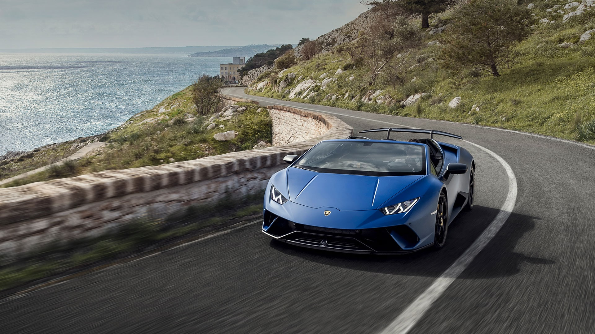 lamborghini huracán performante spyder- technical specifications