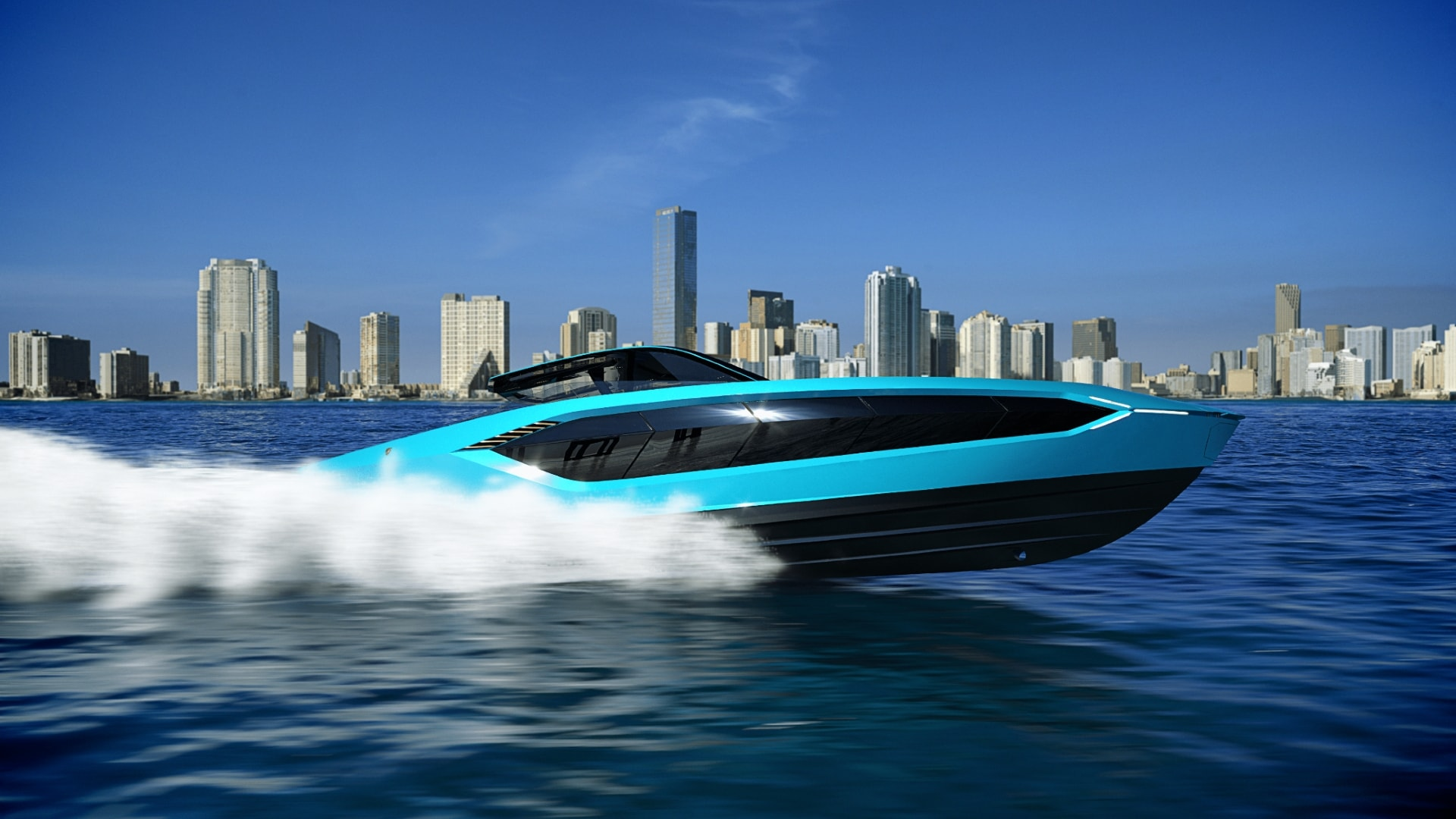 Tecnomar For Lamborghini 63 The Motor Yacht Unveiled