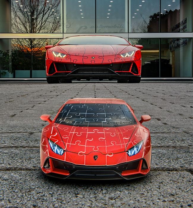 Build your own Lamborghini Huracán EVO as a 3D puzzle