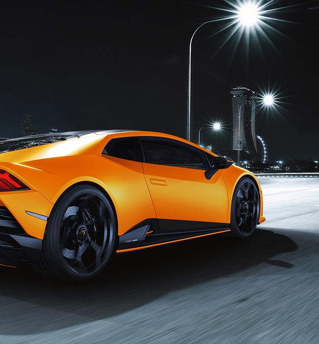 Huracán EVO Fluo Capsule: light up your road