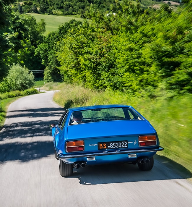Lamborghini Jarama GT: 50 years of style and power