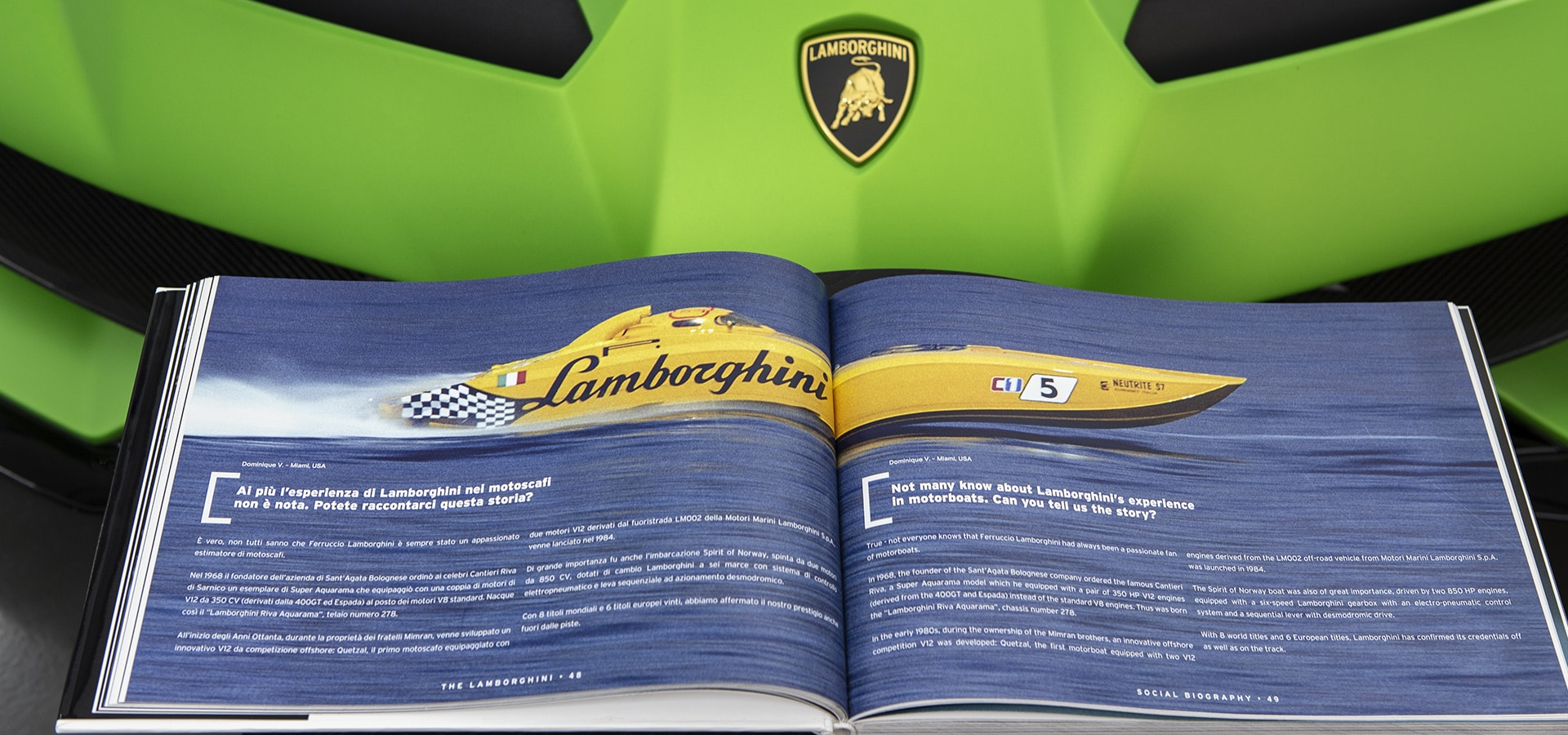 The Lamborghini Social Biography