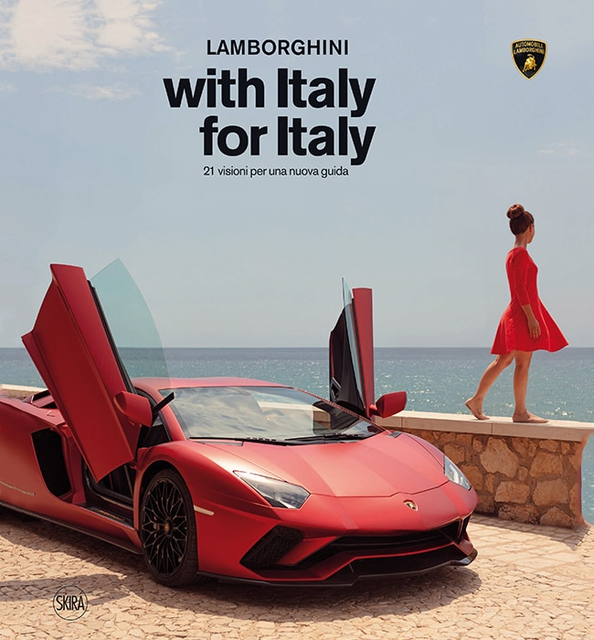 """Lamborghini's """"With Italy, For Italy"""" project becomes a book"""