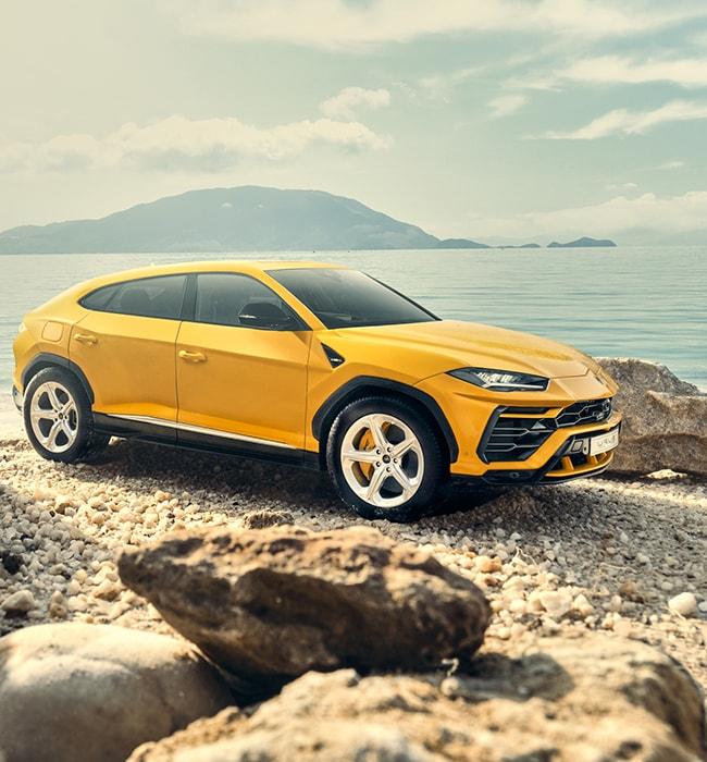 If you can't drive a Lamborghini Urus, make it look like you did!