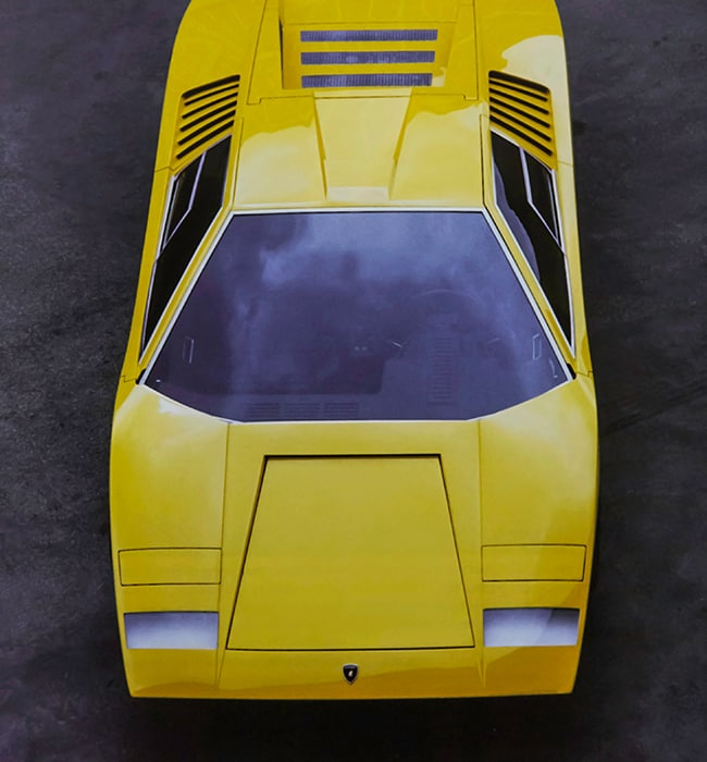 Lamborghini Countach LP500 Turns 50: the story of a legend