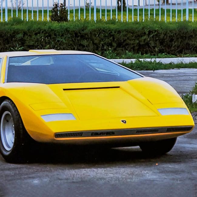 Lamborghini Countach LP500 Turns 50: the story of a legend