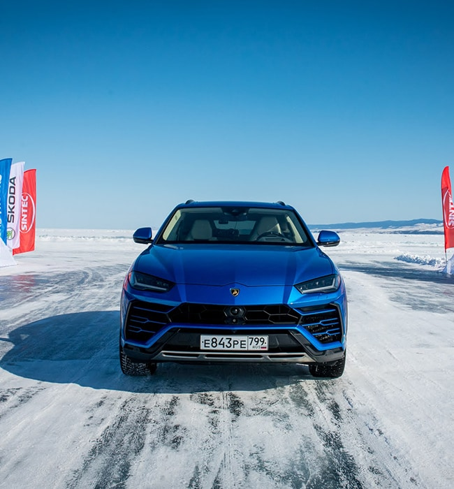 Days of Speed: Urus Sets Record on Ice