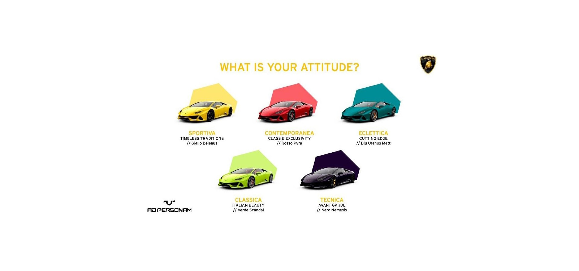 Lamborghini Ad Personam: the 5 things you didn't know