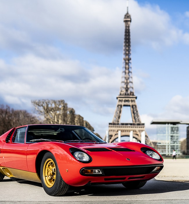 Lamborghini Miura SV: the iconic supercar turns 50