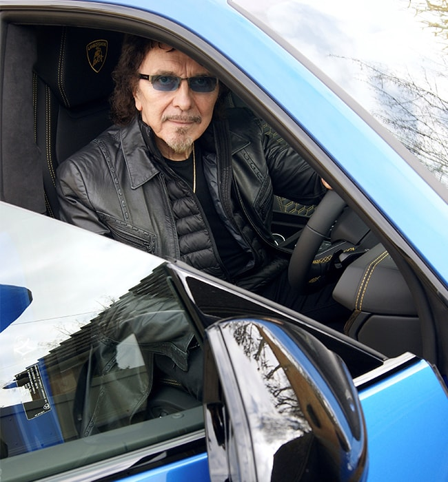 Black Sabbath's Tony Iommi Talks about Heavy Metal and Lamborghini