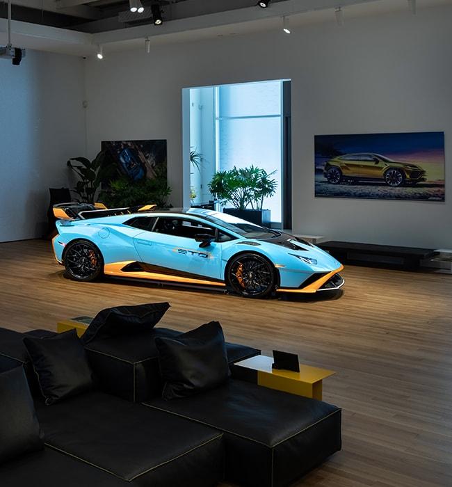 Lamborghini opens a new exclusive VIP Lounge in New York