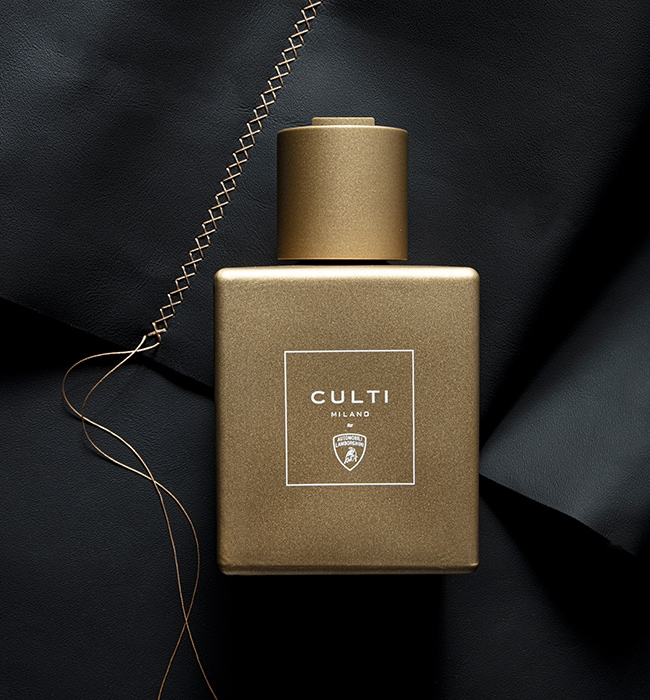 Lamborghini and Culti Milano: the first olfactory branding project