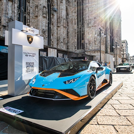 Lamborghini at the Milano Monza Motor Show