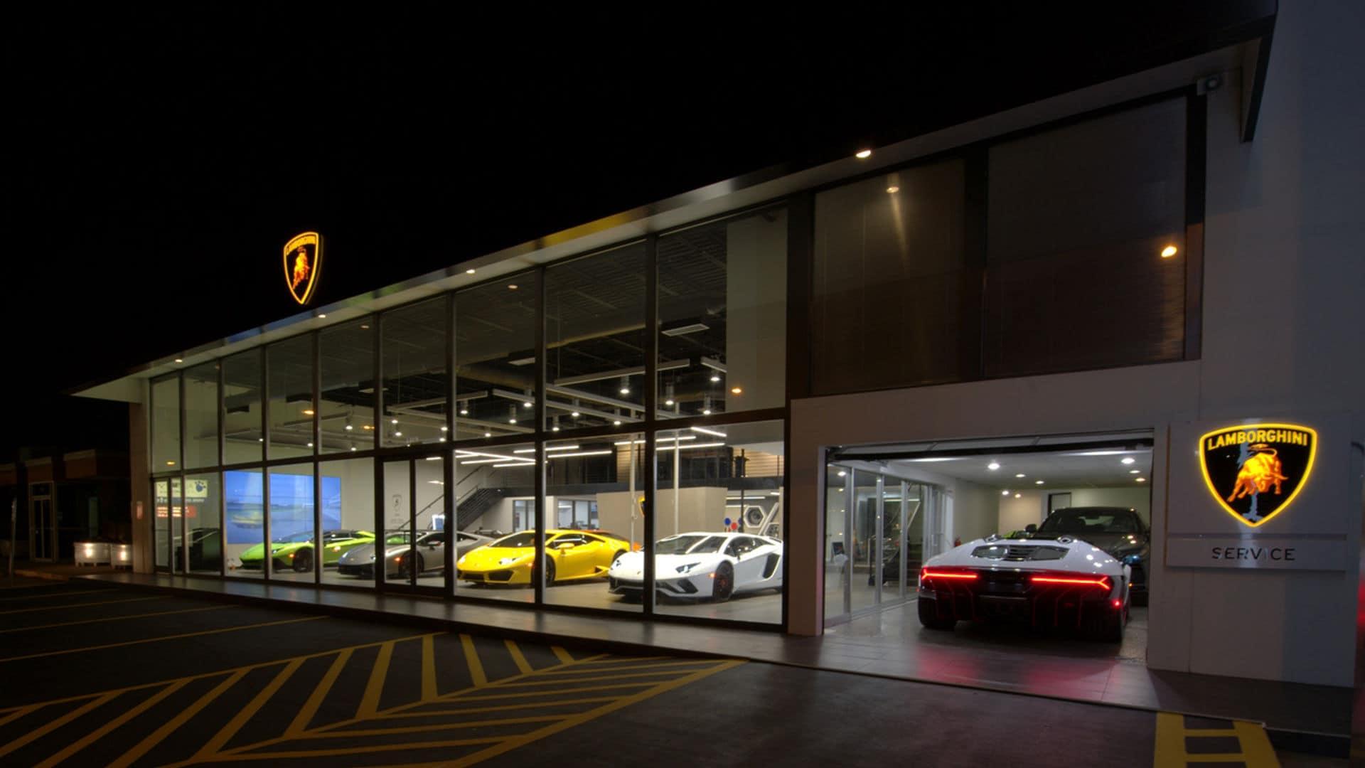 dealerships switzerland managed new world over has lugano around autoevolution establish to countries in dealership lamborghini the opens news
