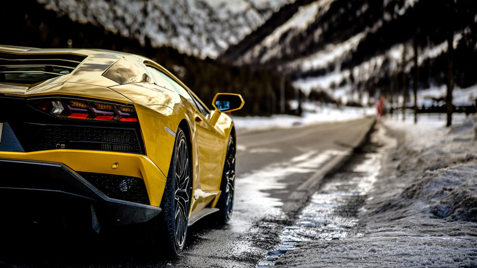 Aventador S Dare Your Ego At High Altitude