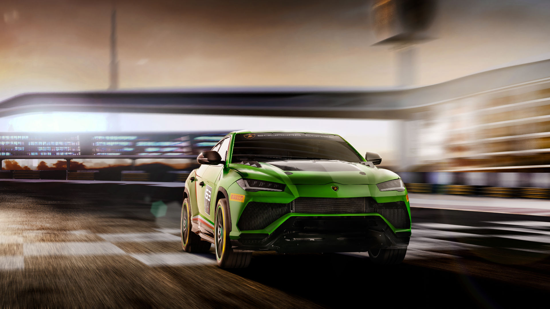 Urus St X Concept The World S First Super Suv Goes Racing