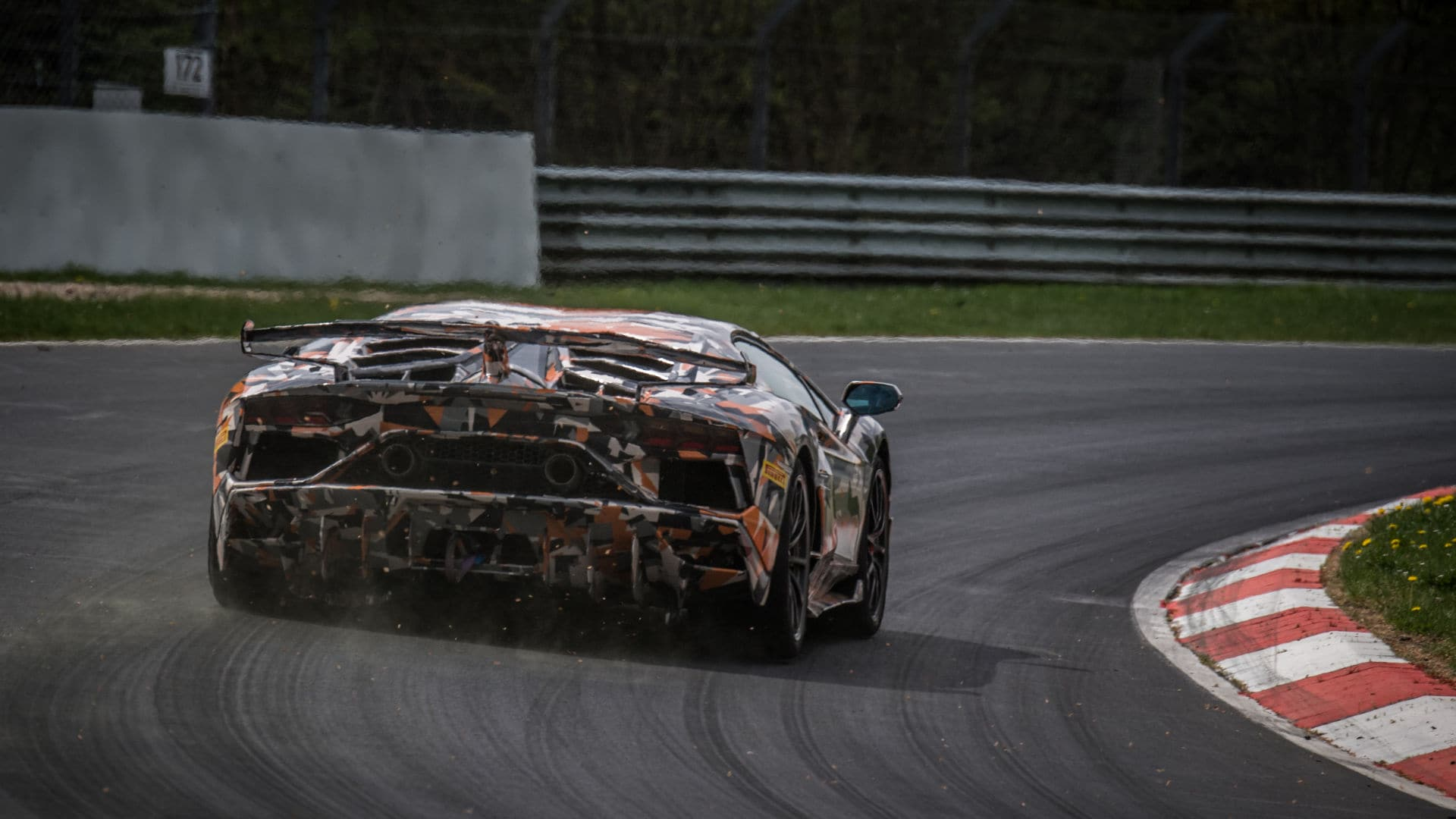 Aventador Svj Sets Nurburgring Lap Record Ahead Of Its Unveiling