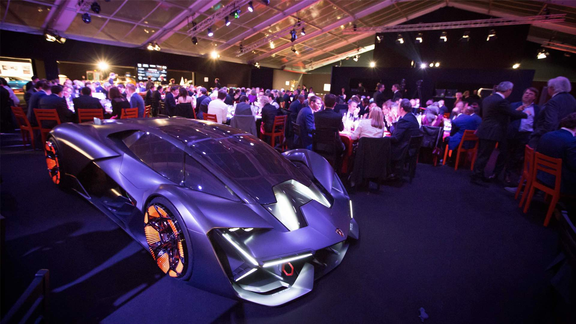 Terzo Millennio At The Fashion Week Design Auto Of Paris