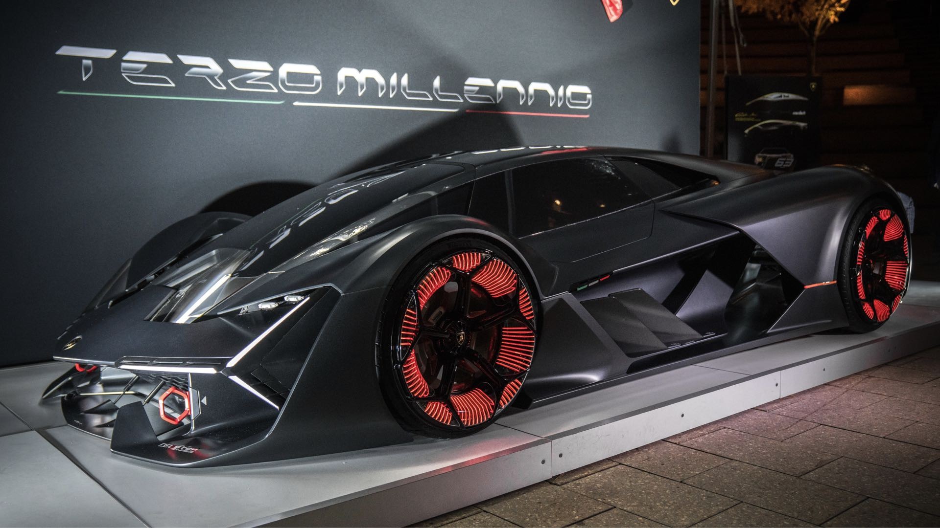 Lamborghini Unveils The Future Sports Car At Emtech Mit