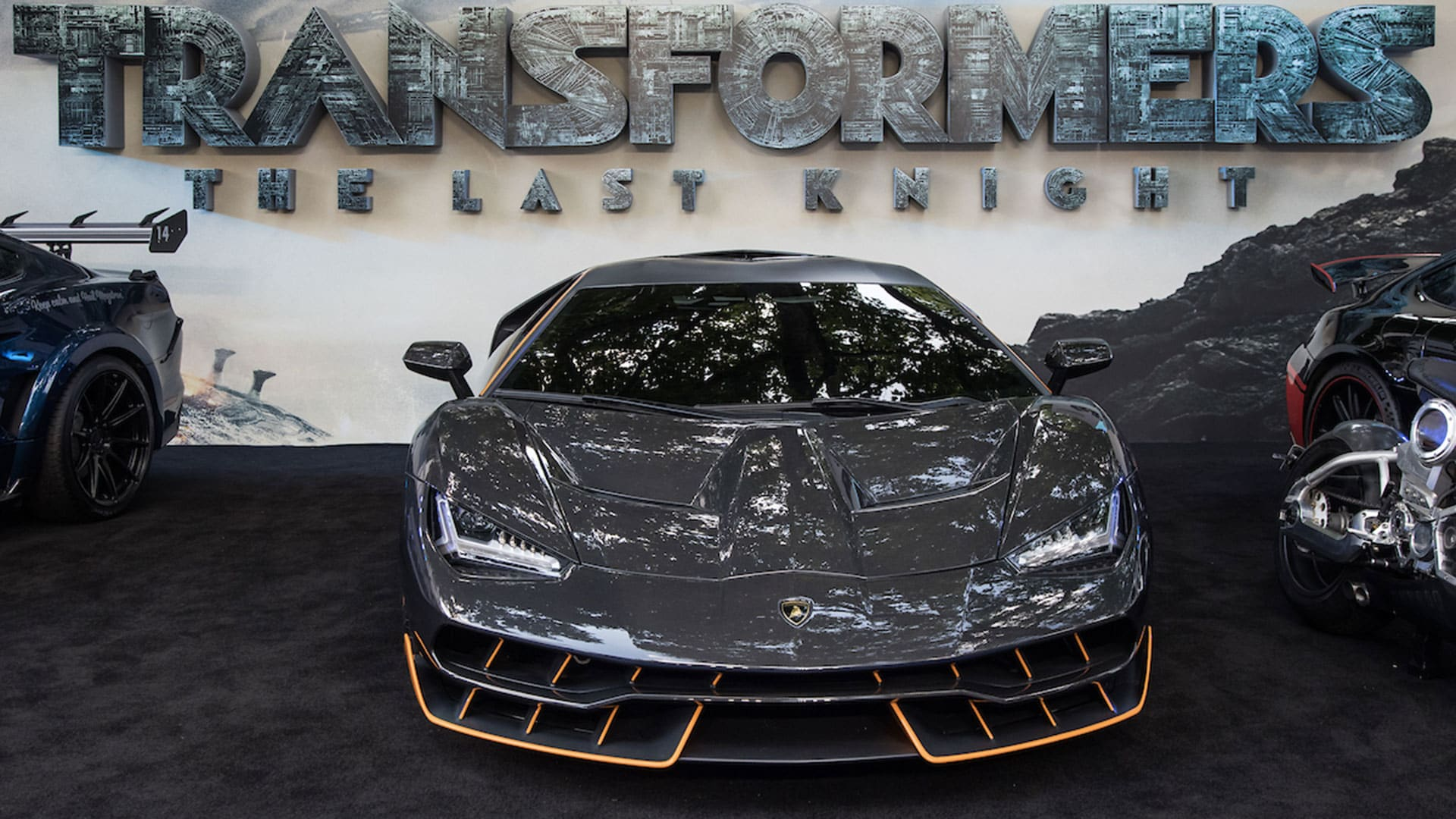 The Lamborghini Centenario At The Transformers The Last Knight