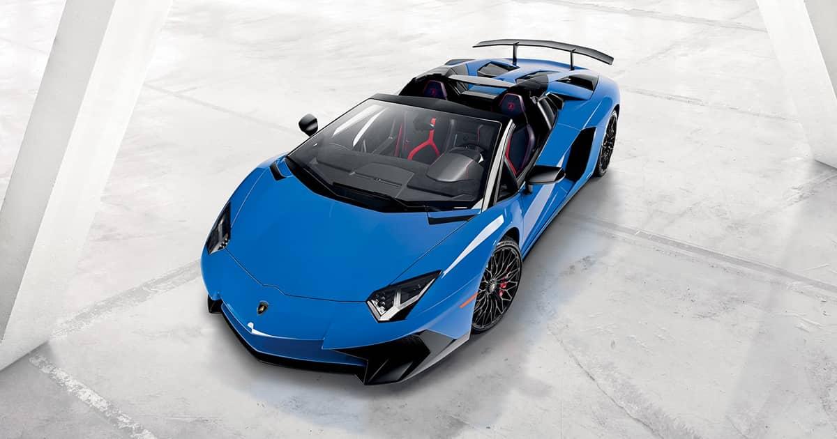 Lamborghini Aventador Superveloce Roadster Pictures Videos