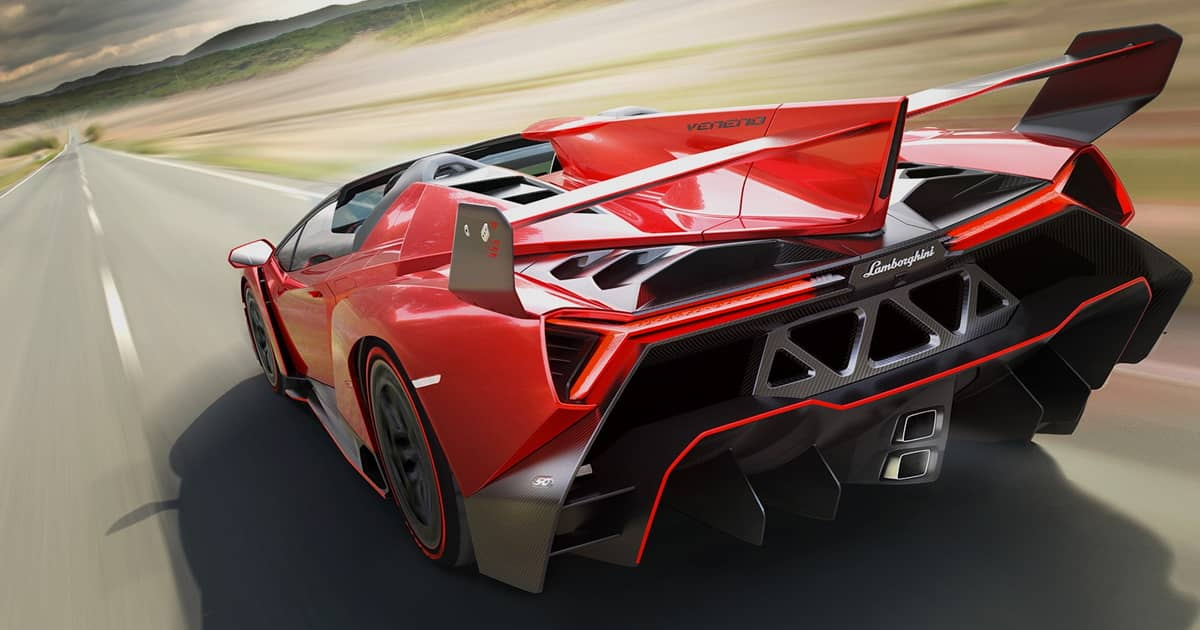 Veneno Roadster - Technical Specifications, Pictures, Videos